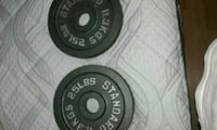 Olympic 25 lb X 2 plates Chicago, 60616