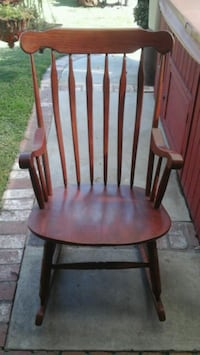 Rocking Chair - Wood  Condition: Good La Mirada, 90638