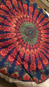 red, blue, and green floral textile Rossford, 43460