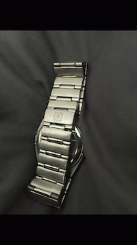 silver-colored analog watch with link bracelet Toronto, M9N 3P8
