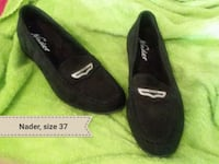 pair of black suede flats Houston, 77077