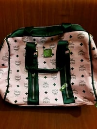 white and green leather tote bag New Port Richey, 34652