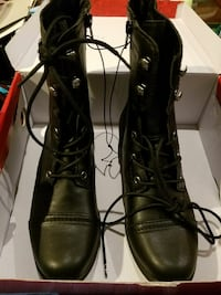 Black Combat Boots New Market, 21774