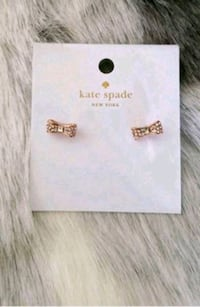 Brand new Authentic Kate Spade bow earrings Vancouver, V6G 1S4