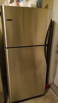 stainless steel top-mount refrigerator Maple Ridge, V2X 2W1