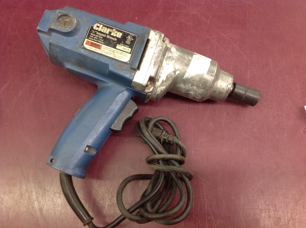 Used 1 2 Electric Impact Wrench Price Is Firm For In Columbus Letgo