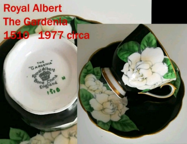Royal Albert the gardenia teacup and saucer