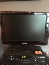 "19"" Black samsung flat screen tv Ashburn, 20147"