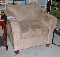 Microsuede sofa chairs BARRIE