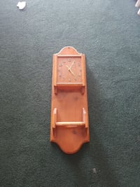 brown wooden pendulum clock Simcoe County