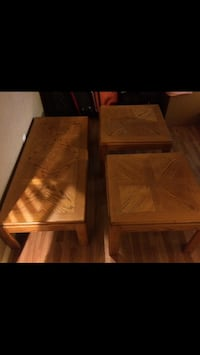 Wooden square tables  Palmdale