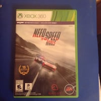 Xbox 360 Need For Speed Rivals game case Oliver, 15767