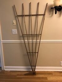 Wood trellis with stake for ground anchoring Nolensville, 37135