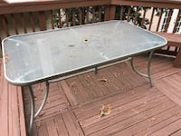 Outdoor Table with 4 Chairs - available until 9/17