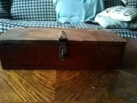 brown and black wooden chest box Tulsa, 74107