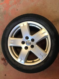 "19"" Chrysler aluminum rims for sale. 5 bolt pattern. All 4 $125.00 or best offer Barrie, L4N 1L9"