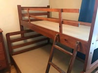 Wood 2 top and bottom bedrooms  included Drawer! Brampton, L6T 4N5
