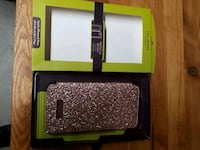 rose gold glitter smartphone flip case with box 576 km