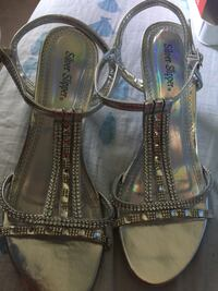 Beautiful Shoes used only one time size 8W Inwood, 25428