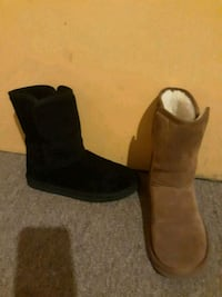 pair of black suede boots Bakersfield, 93306