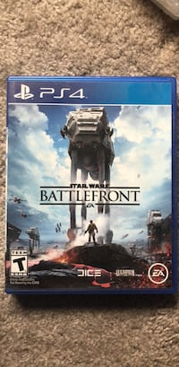Star Wars Battlefront PS4 game case Elkridge, 21075
