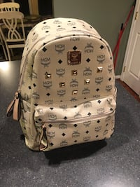 white and black MCM leather backpack Martinsburg, 25404