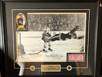 Signed Bobby Orr Kitchener, N2A 0G7