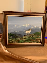 Unknown Painting Framed