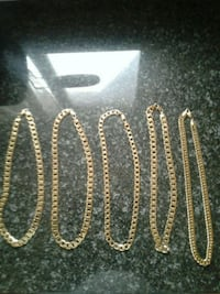 Costume jewelry (chains and bracelets) Toronto, M1L 0B7