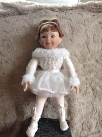 porcelain doll in pink dress Puslinch, N1H 6H9