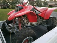 red Honda ATV 131 mi