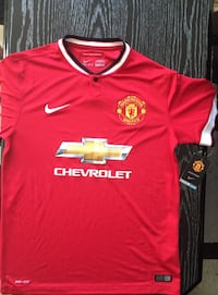 Brand New Manchester United Jersey Coquitlam, V3K 6P7