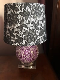 White and black table lamps 2 available Kitchener, N2C