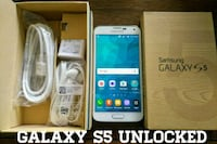 Galaxy S5 UNLOCKED (Like New) White  Arlington