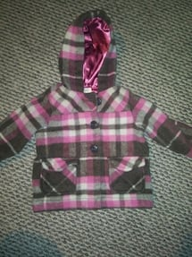 Girls coat Sz 6-12 mos