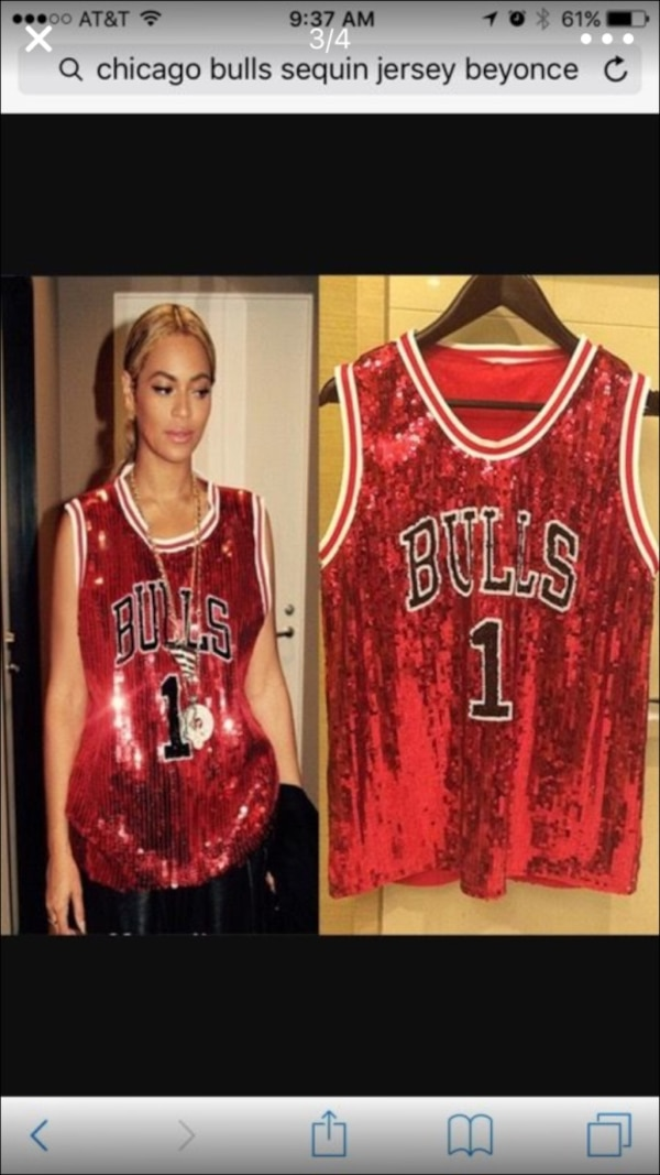 low priced 9cdb8 97f82 Red and white Chicago Bulls jersey shirt