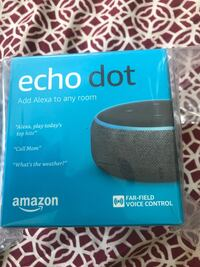 Brand new Amazon Echo dot - Gen 3 Santa Clara, 95051