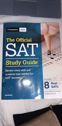 2018 SAT prep book  Wake Forest, 27587