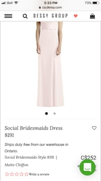 Blush Formal dress Thorold