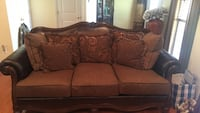formal 3 seat couch & chaise  Lorton, 22079