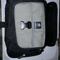 black and gray GameCube carrying case. With strap Morpeth, NE61