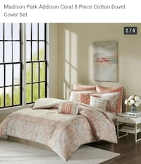 New Madison park.Queen size.8piece. Duvet coverlet 536 km