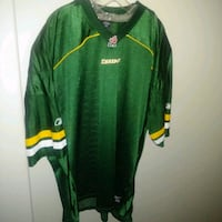 Excellent condition: mens 3xl reebok edmonton eskimos blank football j Edmonton, T6X 1J9
