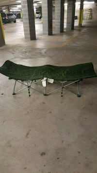 green and black camping chair Brooklyn, 11235
