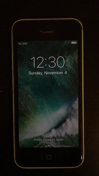 I phone 5c (unlocked) Oakville, L6M 4W4
