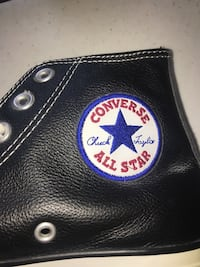 Convers All Stars Black leather unisex  Alexandria, 22304