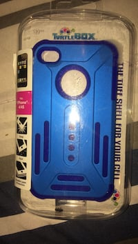 blue iPhone case (brand new)