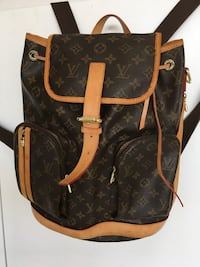 Brown and black louis vuitton leather backpack Las Vegas, 89129