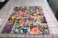 Comic books for 400$ 200 for all marvel comics  200 for all dc comics
