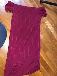 Red/ burgundy dress  Springdale